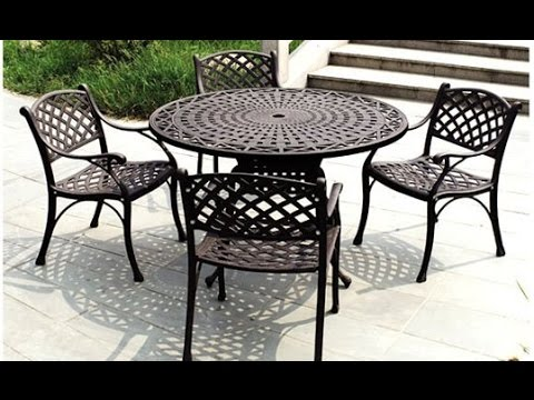 Iron Patio Furniture iron patio furniture~iron outdoor furniture australia - youtube