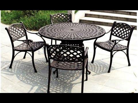 iron patio furniture iron outdoor