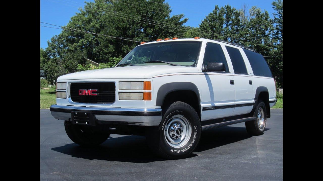1999 GMC Suburban 2500 SLT 4X4 74L 454 SOLD!!!  YouTube