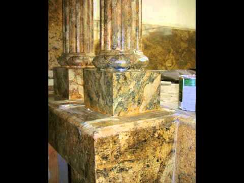 FAUX MARBLE COLUMNS, FIREPLACES, MOLDING,  in LA,CA - Carlos Casamayor (2 of 5)