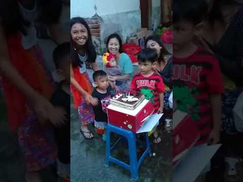 Happy Birthday Bagas ke 4 Tahun
