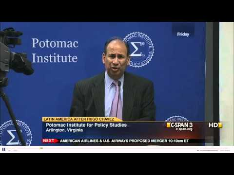 Ambassador Noriega at the Potomac Institute for Policy Studies