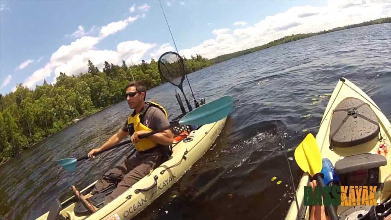 P che en kayak fishing lac antostagan for Kayak fishing louisiana