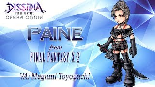 DISSIDIA FINAL FANTASY OPERA OMNIA - Paine