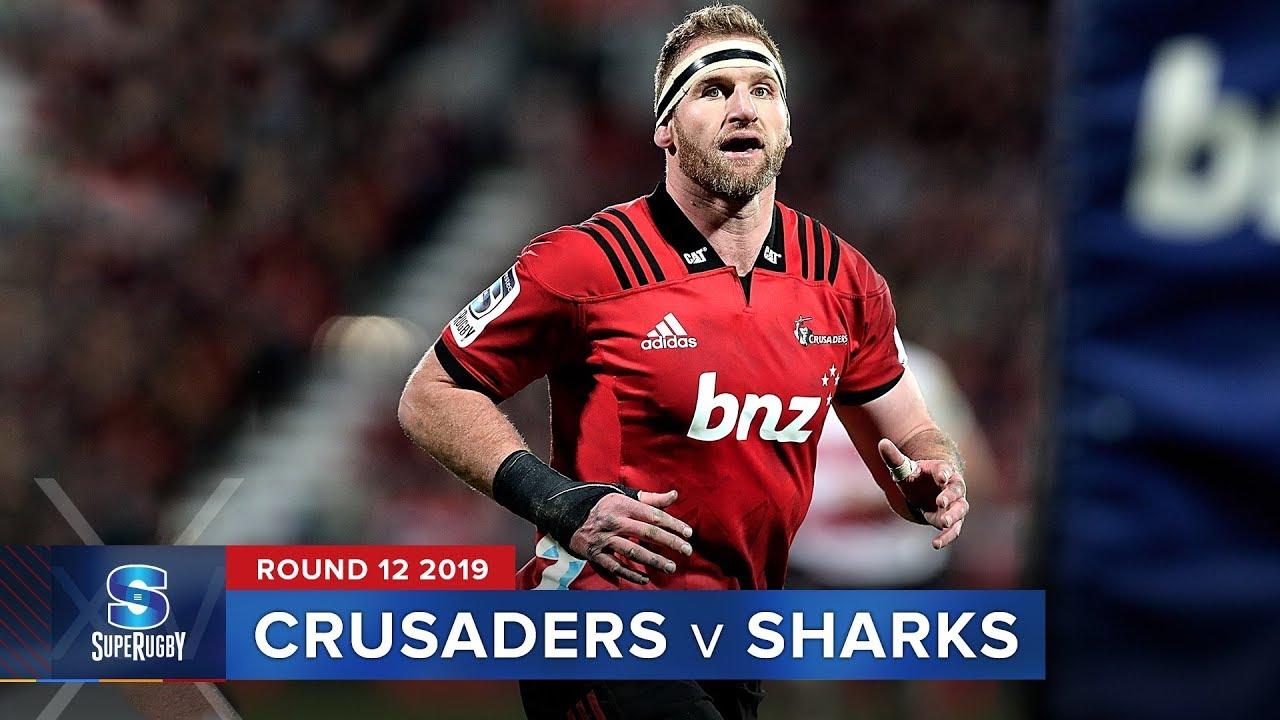 Crusaders v Sharks  | Super Rugby 2019 Rd 12 Highlights