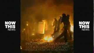 Big Brother Ukraine Harasses Protesters By Texts
