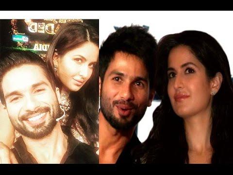 Shahid Kapoor And Katrina Kaif Kissing Katrina Kaif & ...