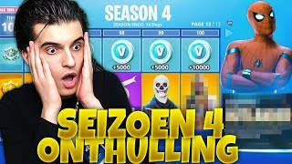 SEIZOEN 4 NIEUWE SKINS😱! | Fortnite Battle Royale (Nederlands)