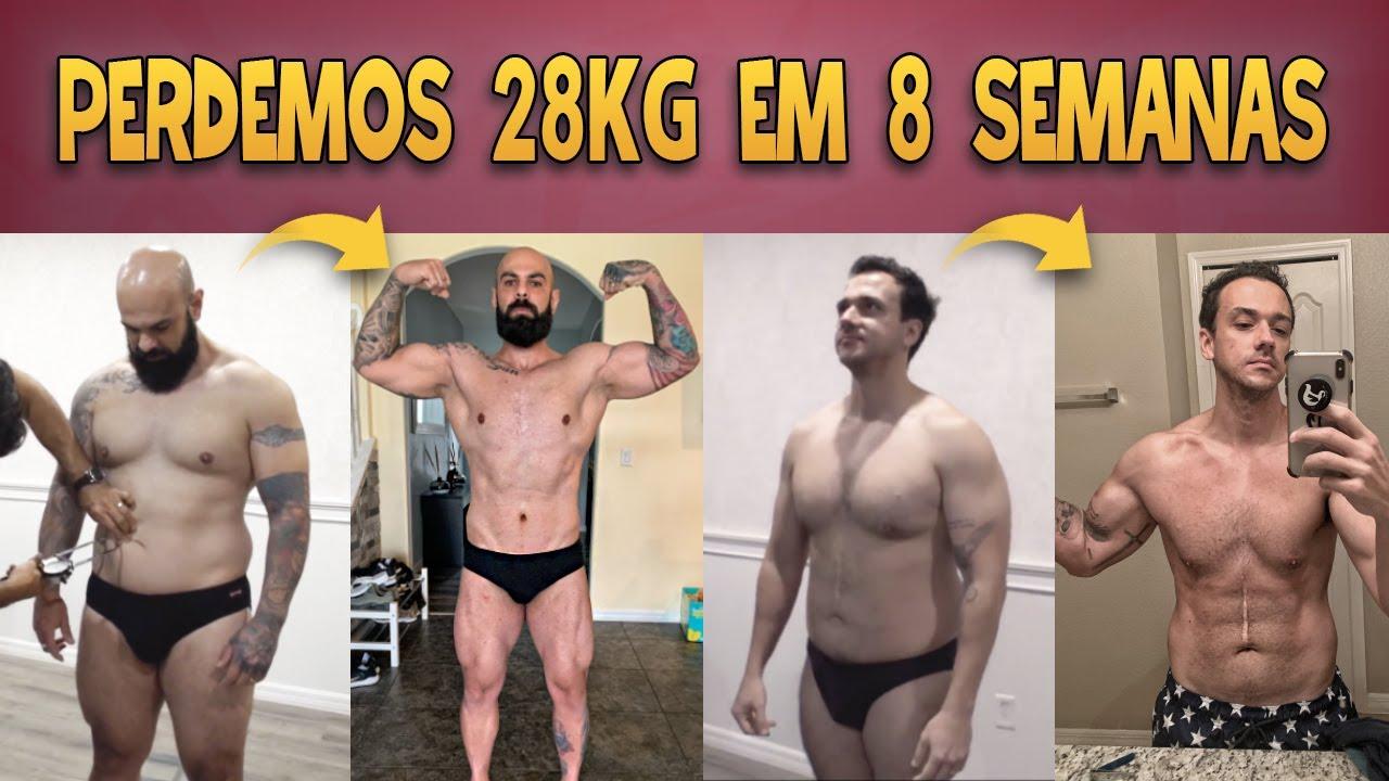 PERDEMOS 28 KG EM 8 SEMANAS COM O PROTOCOLO SHAPE FAIXA PRETA | ANTES E DEPOIS