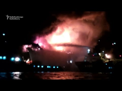 Azerbaijan finds 6 more bodies after oil rig fire