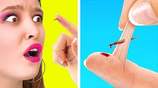 SIMPLE LIFE HACKS THAT WORK MAGIC! || Funny Tricks You Didn't Know by 123 Go! Live