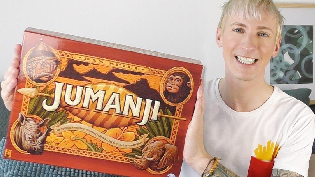 Jumanji Brettspiel Deutsch