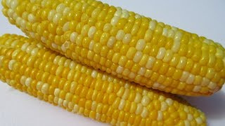 Boiled CORN ON THE COB in 15 minutes - How to boil perfect CORN ON THE COB demonstration