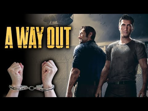 CAN WE PLAY A WAY OUT HANDCUFFED? - Part 1 - Can We Games |