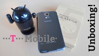 Samsung Galaxy S5 Charcoal Black  T-Mobile - Snapdragon 801 - Unboxing!