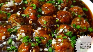 Veg Manchurian Gravy Recipe - Chinese Main Course Veg Manchurian Recipe - Manchurian Recipe in Hindi