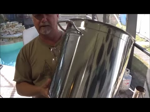 Concord 40 Quart Stainless Steel Stock Pot  Un-Boxing And Review