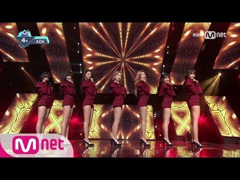 [AOA - Excuse Me] KPOP TV Show   M COUNTDOWN 170112 EP.506