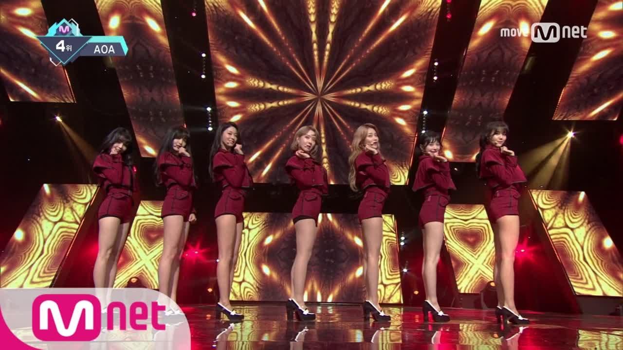 [AOA - Excuse Me] KPOP TV Show | M COUNTDOWN 170112 EP.506
