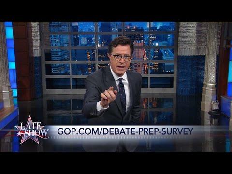 You Should Definitely Take the Donald Trump Debate Prep Survey