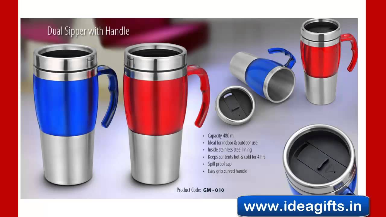 All Metal Travel Mug