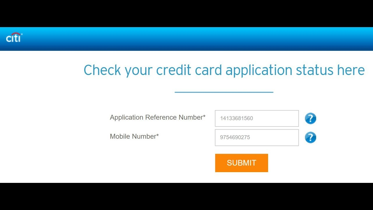 Check Your Citi Application Status Citibank >> How To Know Citibank Credit Card Application Status Online