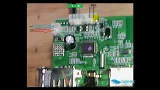 actualiza tu amplificador de audio con este receptor usb bluetooth mp3 y radio fm