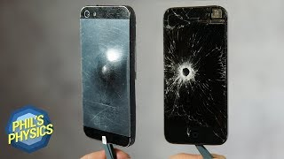 iPhone rettet Leben? Auf Handy schießen | Phil's Physics