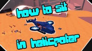 Come sedersi in elicottero (ROBLOX CLONE TYCOON 2)