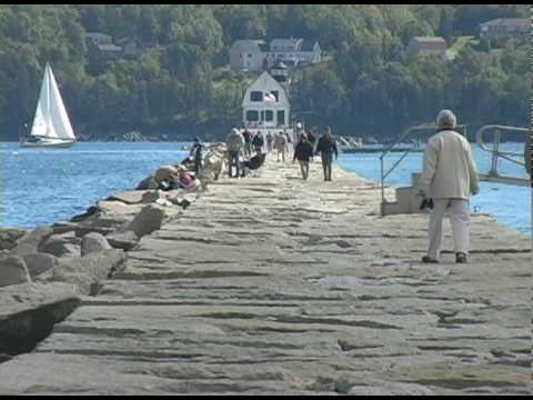 Rockland Breakwater - Rockland Maine