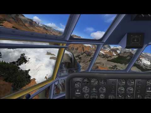 A2A Simulations B377 Stratocruiser Grand Canyon run