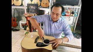 Hướng dẫn cách thay dây đàn Guitar Nylong - Dungclassic
