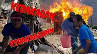 Kebakaran Simulasi Tanggap Darurat Kebakaran Di Desa Tambakreja Cilacap