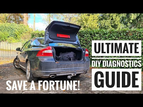 How to run Diagnostics on your Volvo!