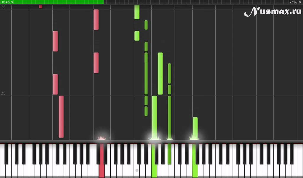 One Republic Feat Timbaland Apologize Piano Tutorial Synthesia