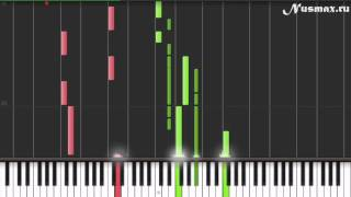 One Republic feat. Timbaland - Apologize Piano Tutorial  (Synthesia + Sheets + MIDI)