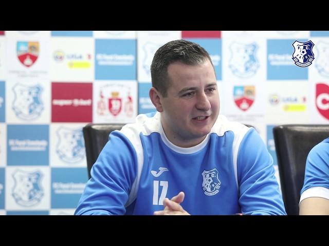 Conferință de presă înaintea meciul FC Farul - Concordia Chiajna