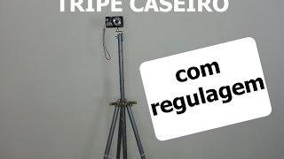 Tripé Caseiro Para Camera Com Regulagem