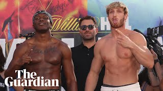 KSI vs Logan Paul 2: big-money YouTube boxing rematch explained