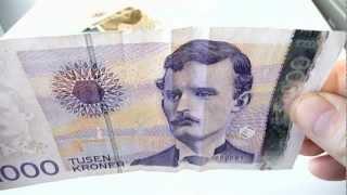 Smilende penger