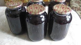 Сок виноградный ( консервация, через соковарку)