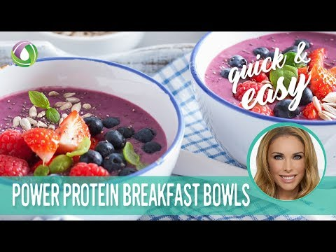 High-Protein Chai Smoothie Bowl