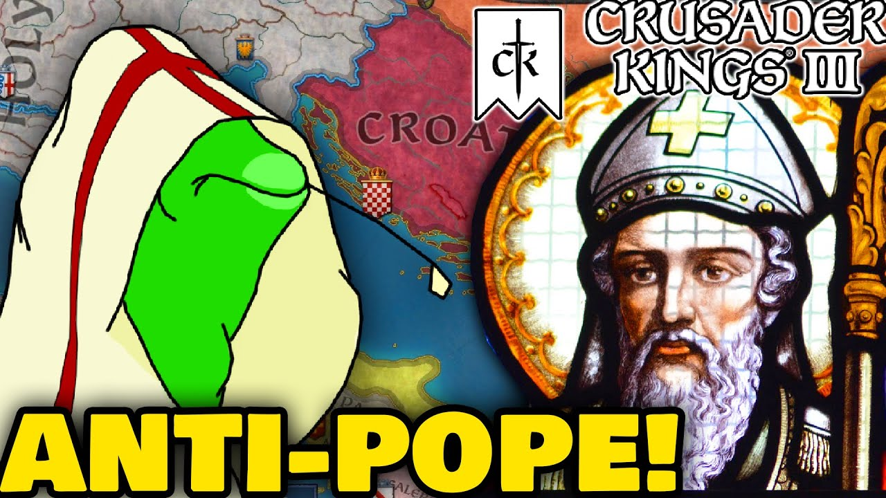 Crusader Kings 3 - THE ANTI-POPE EXPERIENCE