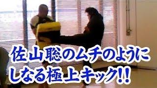 初代タイガーマスク佐山聡の極上キック!! 佐山 聡は、日本のプロレスラー。総合格闘技の元祖とされる団体・シューティングの創設者としても...