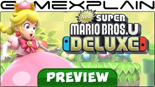 We Played New Super Mario Bros. U Deluxe! - Control Changes, Peachette, & More! (Nintendo Switch)