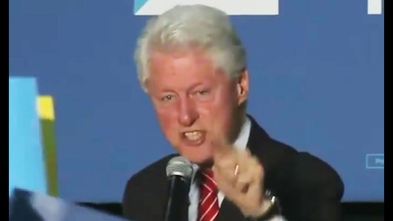 Image result for bill clinton angry at black lives matter