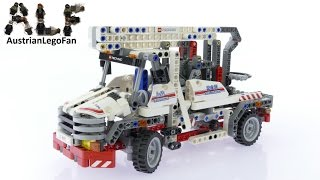 Lego Technic 8071 Bucket Truck - Lego Speed Build Review