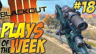 Call of Duty: Black Ops 4 - BLACKOUT Kills Of The Week #18 (BO4 Blackout Plays & Moments Montage)