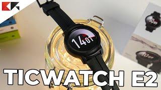 Recensione TICWATCH E2: smartwatch Wear OS resistente fino a 5 ATM