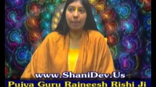 Shani Sade Sati Remedies by Param Pujya Guru Rajneesh Rishi Ji